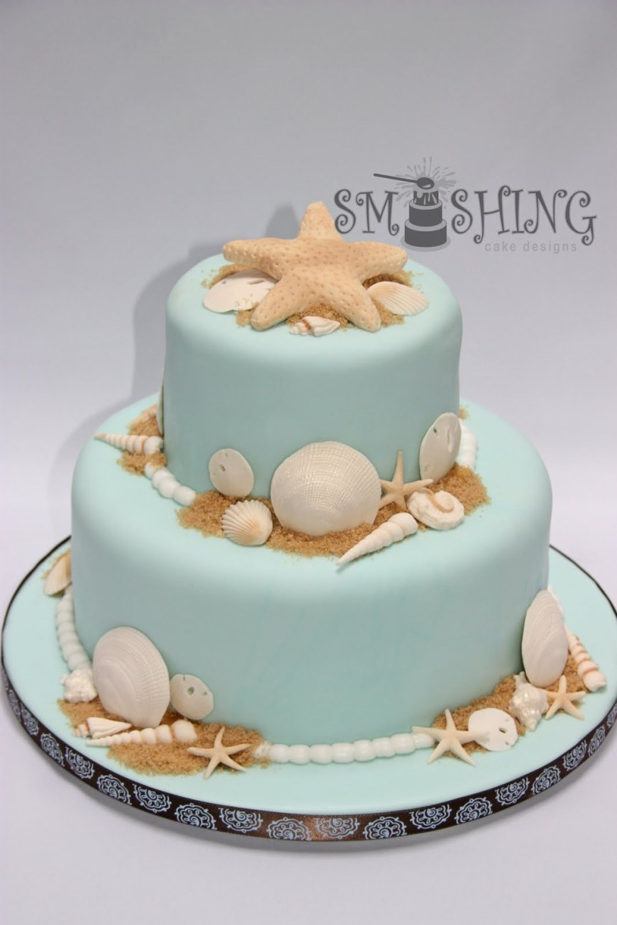 Beach Birthday Cakes Beach Birthday Cakes