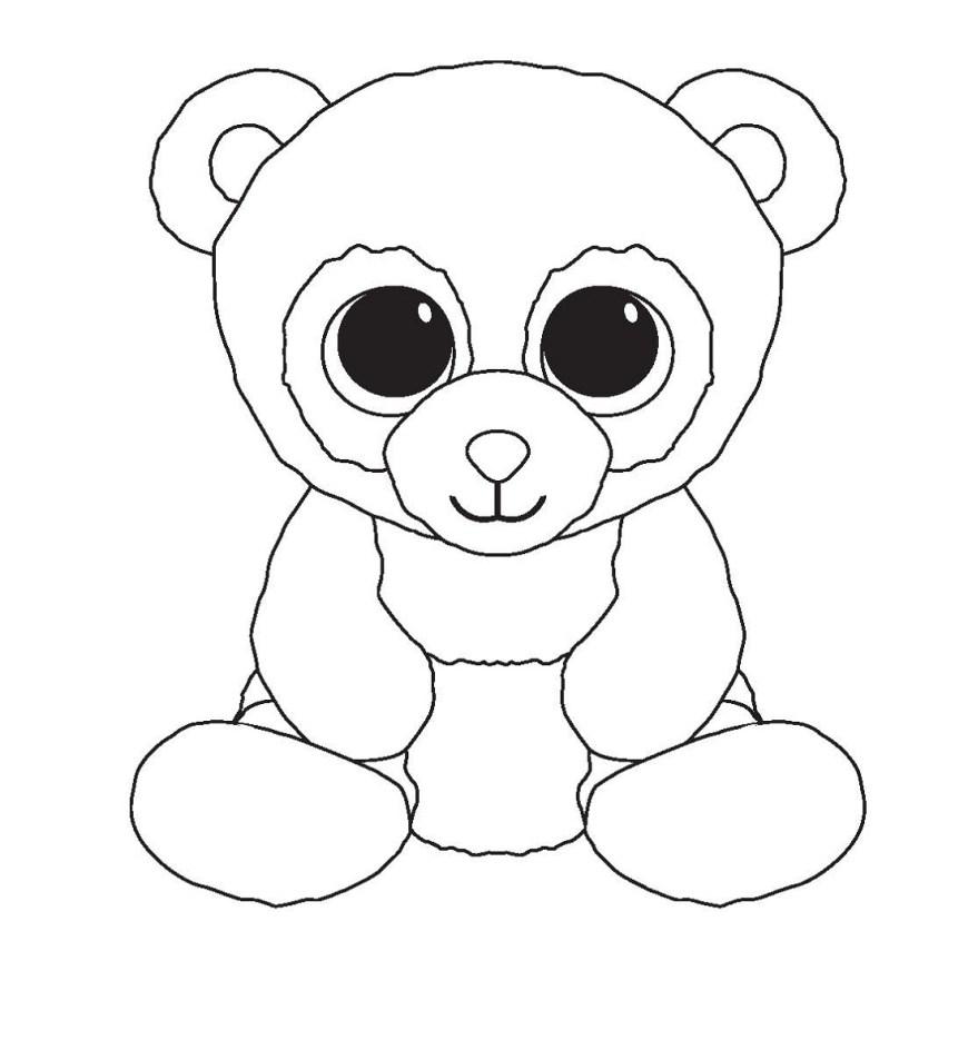 Beanie Boo Coloring Pages Beanie Boo Coloring Pages For Kids Educative Printable