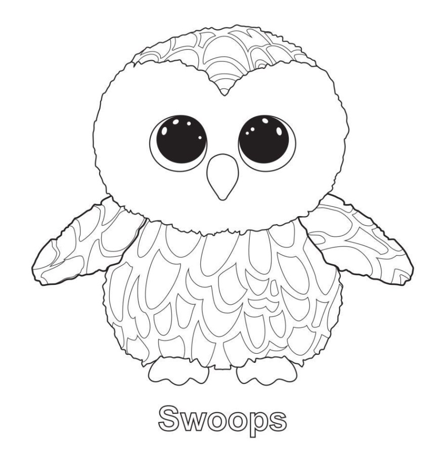 Beanie Boo Coloring Pages Beanie Boo Coloring Pages Only Elegant Colouring Ty Beanies