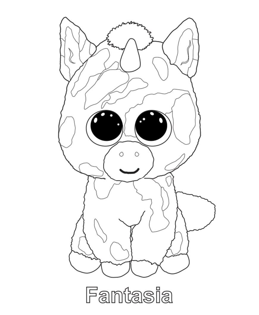 Beanie Boo Coloring Pages Beanie Boo Coloring Pages Sweet Beanie Boo Coloring Pages To Beanie