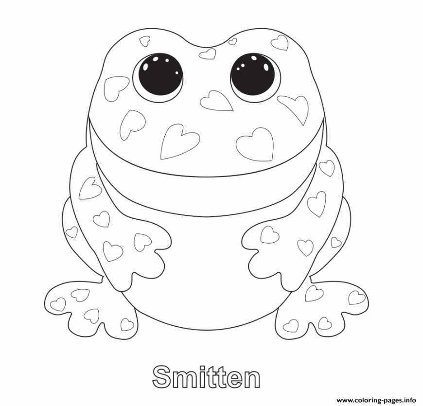 Beanie Boo Coloring Pages Beanie Boo Printables Best Of Smitten Beanie Boo Coloring Pages