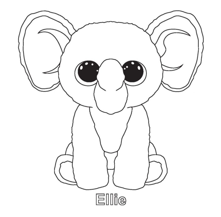 Beanie Boo Coloring Pages Coloring Pages Beanie Boo Coloring Pages Lionbeanie Printable