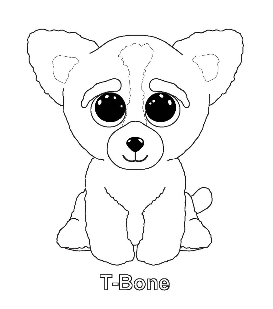 Beanie Boo Coloring Pages The Best Free Boos Coloring Page Images Download From 83 Free