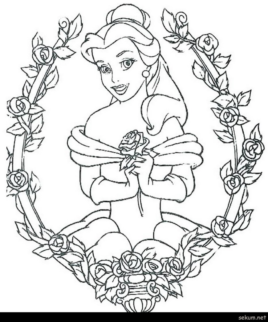 Belle Coloring Pages Coloring Pages Belle Coloring Pages Belle Princess Coloring Pages