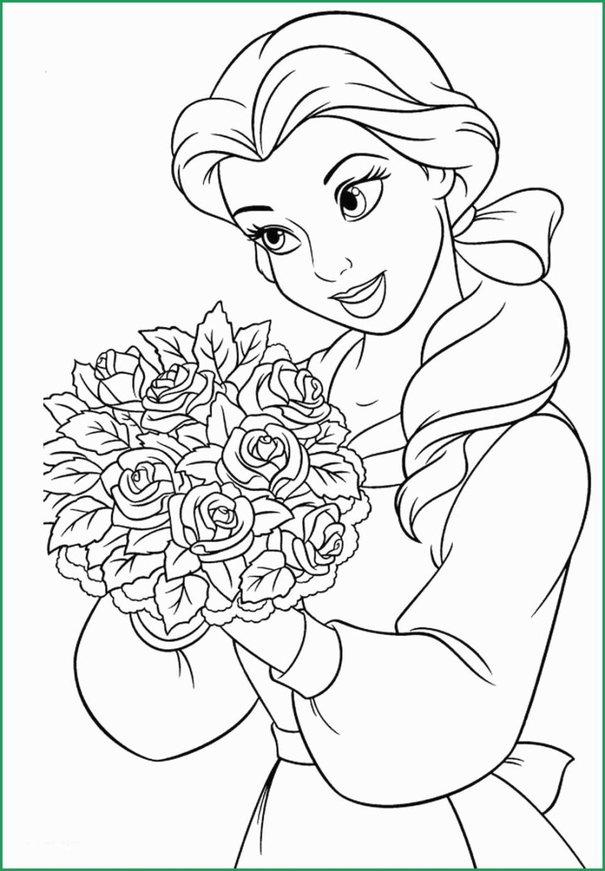 Belle Coloring Pages Pretty Figure Of Belle Coloring Pages Coloring Pages