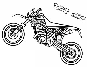 Bike Coloring Pages Dirt Bike Coloring Pages Printable K5 Worksheets