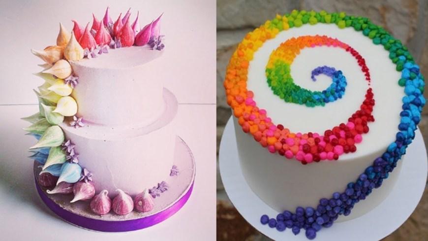 Birthday Cake Design Top 20 Easy Birthday Cake Decorating Ideas Oddly Satisfying Cake