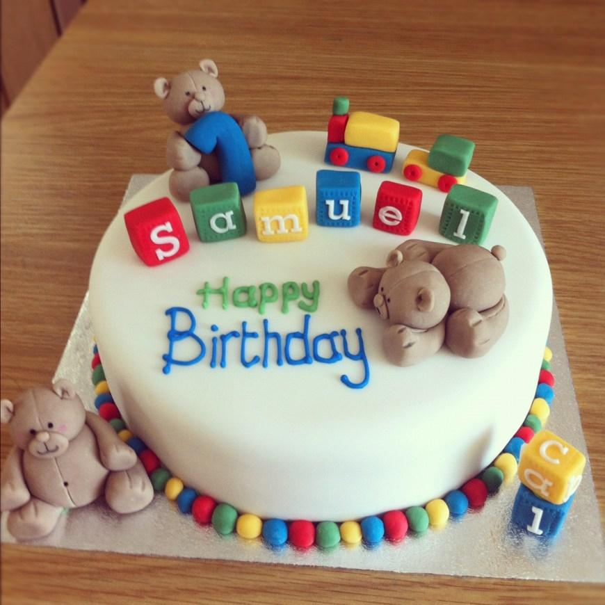 Birthday Cake For Boy 15 Ba Boy First Birthday Cake Ideas