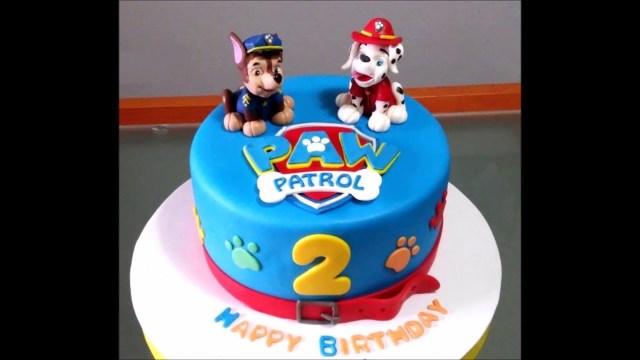 Birthday Cake For Boy Ba Boy 2nd Birthday Cake Youtube