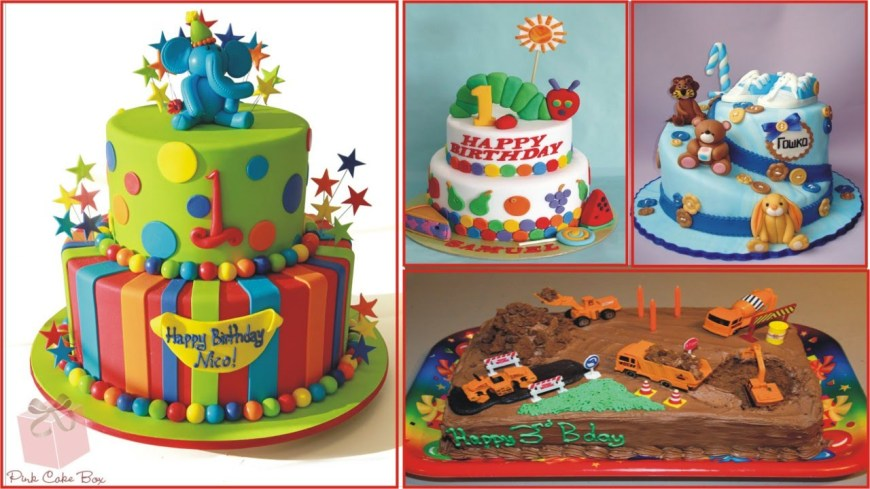 Birthday Cake For Boy Birthday Cake Ideas For Children Youtube