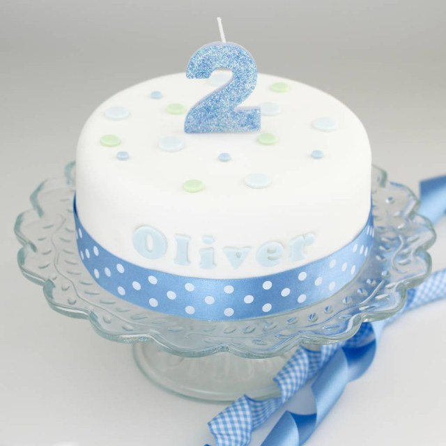 Birthday Cake For Boy Personalised Boys Birthday Cake Decorating Kit Clever Little Cake