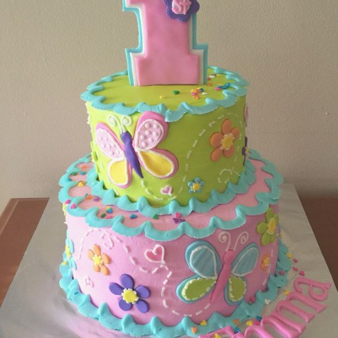 Birthday Cake For Girls 1st Birthday Cake For A Girl My Own Cakes Pinterest Birthday