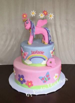 Birthday Cake For Sister Princess Birthday Cake Sister Colorfulbirthdaycakesga