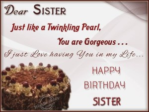 Birthday Cake For Sister Sister Jane Amazingbirthdaycakescf