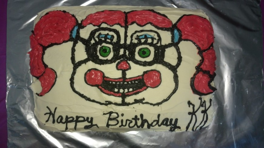 Birthday Cake For Sister Sister Location Circus Ba Birthday Cake Five Nights At Freddys