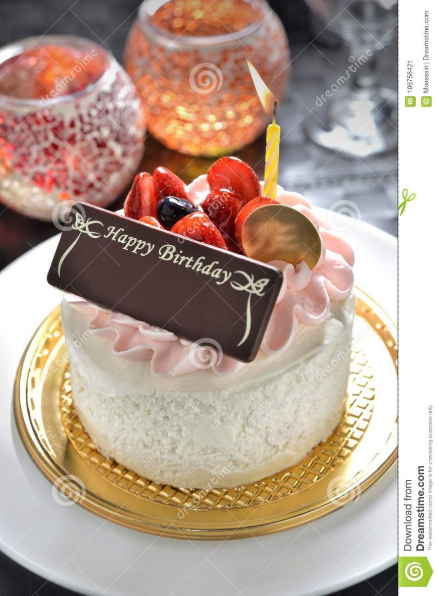Birthday Cake Images With Name Birthday Cake With Name Tag Stock Image Image Of Chocolate Cheer