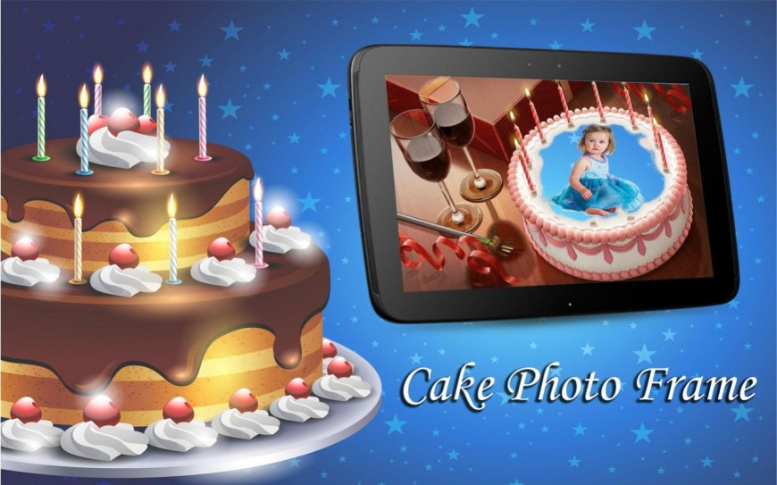 Birthday Cake Photo Frame Birthday Cake Photo Frame 11 Free Download