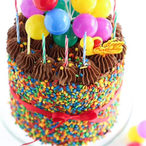 Birthday Cake Pics The Birthday Cake Sprinkle Bakes