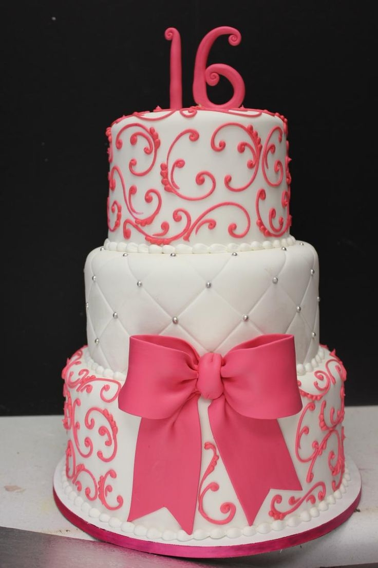 Birthday Cakes For 14 Years Old Girl Best 25 Tiered Ideas On Pinterest
