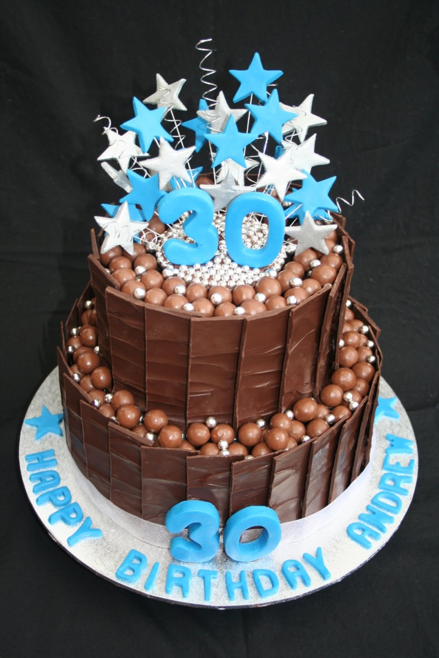 Birthday Cakes For Him 11 30th Birthday Cakes For Men Photo 30th Birthday Cake Ideas For