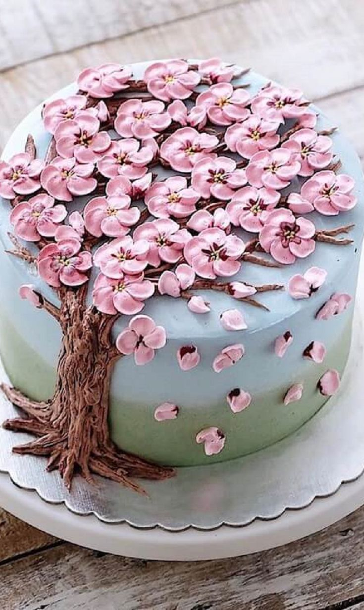 Birthday Cakes With Flowers 30 Beautiful Flower Cakes To Celebrate Spring In The Most Yummy Way