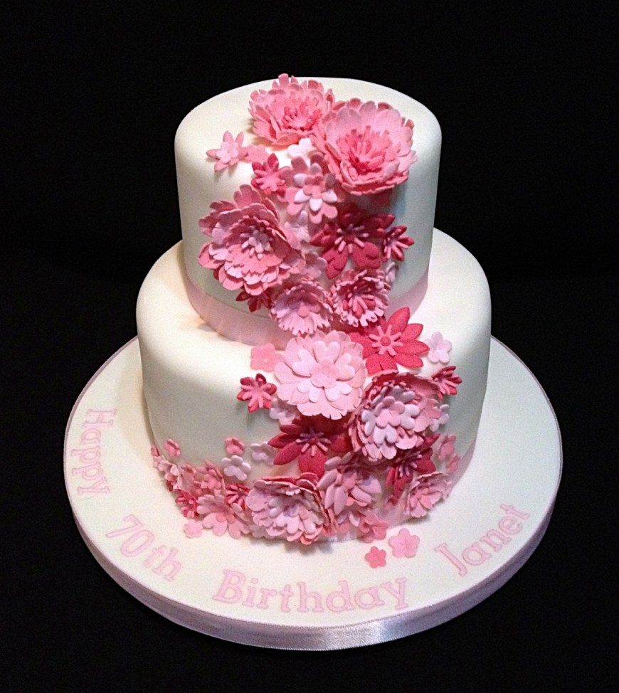 Birthday Cakes With Flowers Flower Cakes Decoration Ideas Little Birthday Cakes