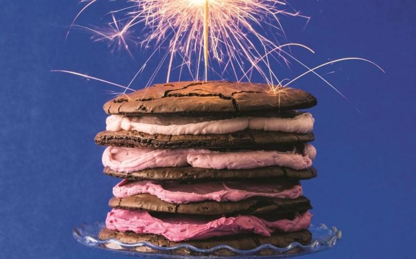 Birthday Cookie Cake Birthday Cookie Cake