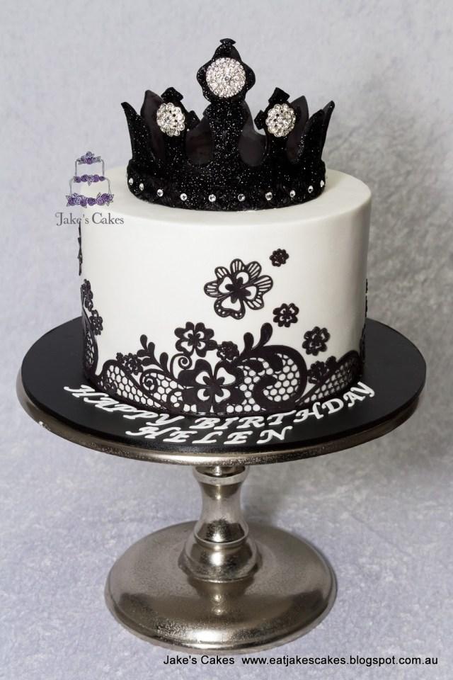 Bling Birthday Cakes 13 Birthday Cakes Elegant Black And White With Bling Photo Black