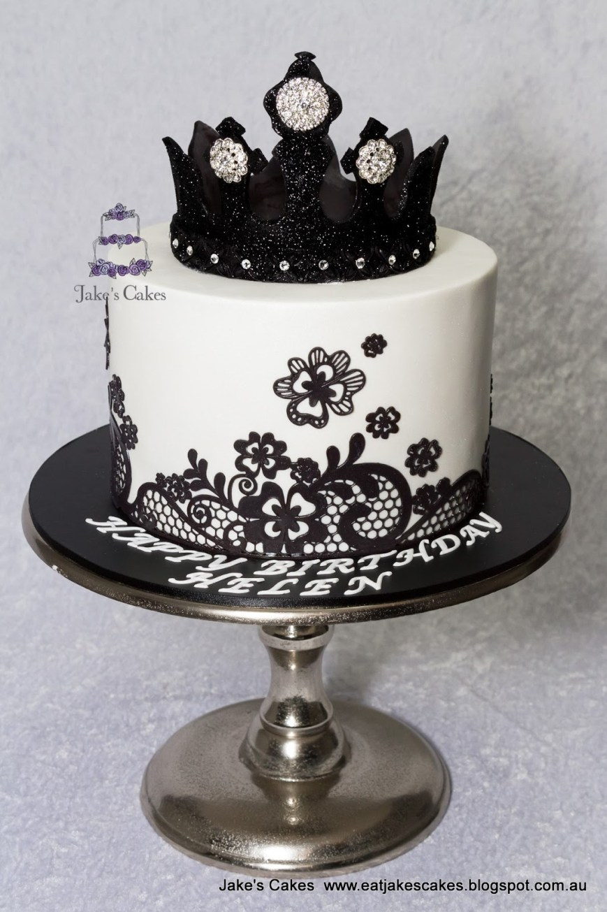 Bling Birthday Cakes 13 Birthday Cakes Elegant Black And White With Bling Photo Black