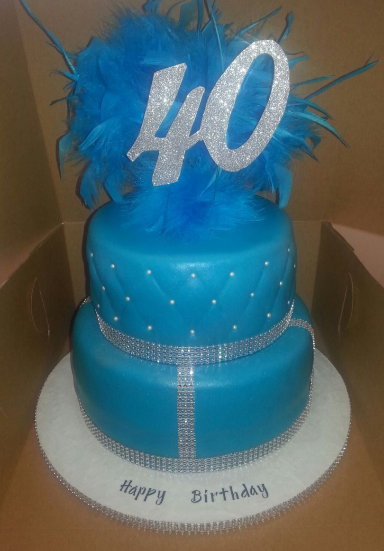 Bling Birthday Cakes 2 Tier Bling Birthday Cake Cakecentral