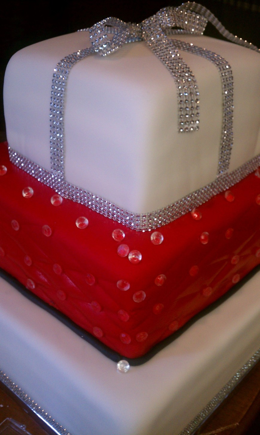 Bling Birthday Cakes 50th Bling Birthday Cake My Cakes Pinterest Cake Birthday