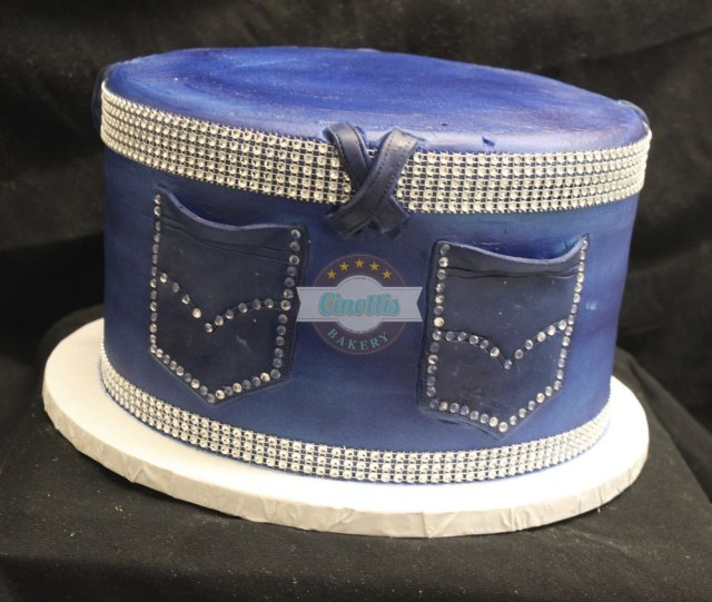 Bling Birthday Cakes Jeans Bling Birthday Cake Jazz It Up With Cinottis Bakery