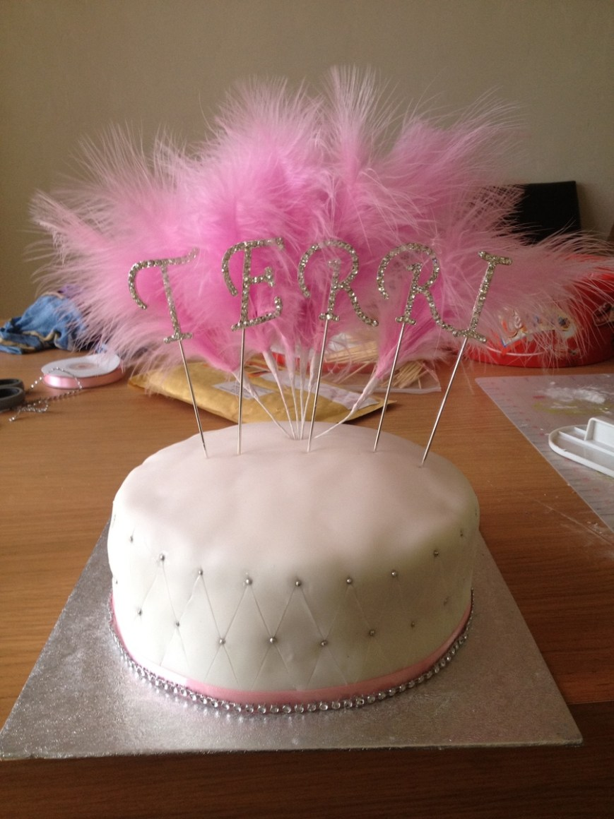 Bling Birthday Cakes Pink Bling Birthday Cake Cakecentral