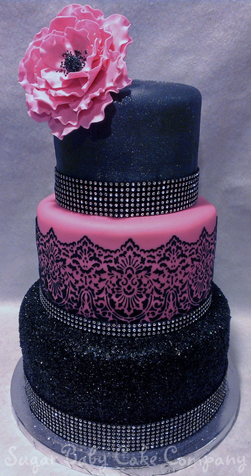 Bling Birthday Cakes Sexy Bling 40th Birthday Cake Cakecentral
