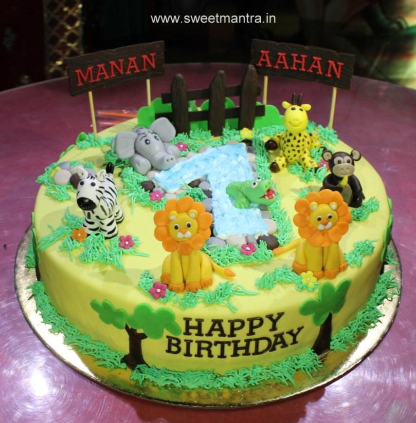 Boys Birthday Cake Twin Boys Birthday Cake 44 Cakes Cakesdecor