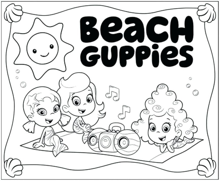 Bubble Guppies Coloring Pages Bubble Guppy Coloring Pages Wiegraefeco