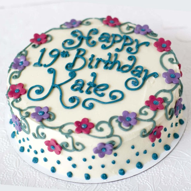 Buttercream Birthday Cakes Buttercream Birthday Cakeedinburghglasgow