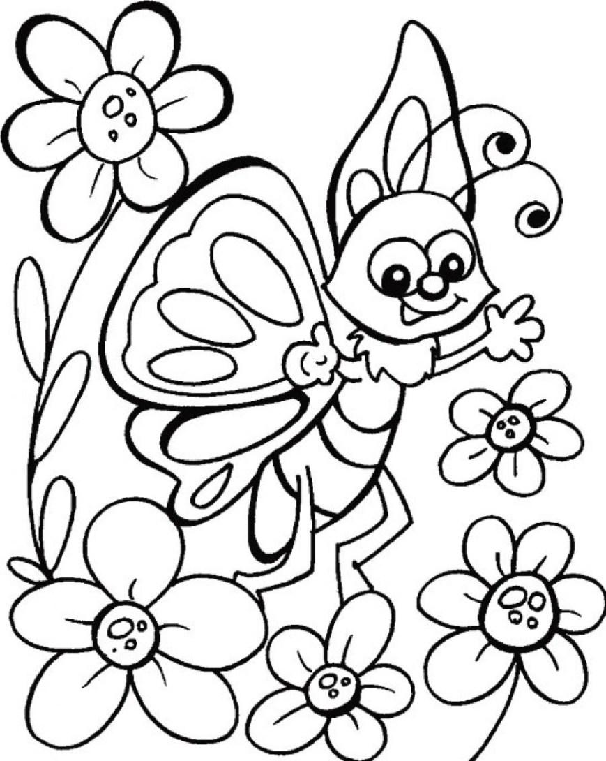 Butterflies Coloring Pages Butterflies Color For Kids Coloring Pages Butterfly Books Book Year