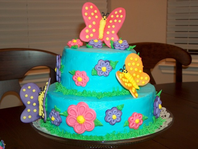 Butterfly Birthday Cake 11 Bday Butterflies On Cakes Photo Butterfly Birthday Cake
