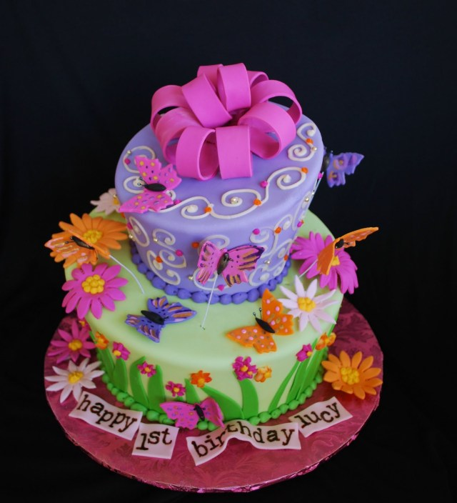 Butterfly Birthday Cake 11 Butterfly Themed Birthday Cakes Photo Butterfly Birthday Cake