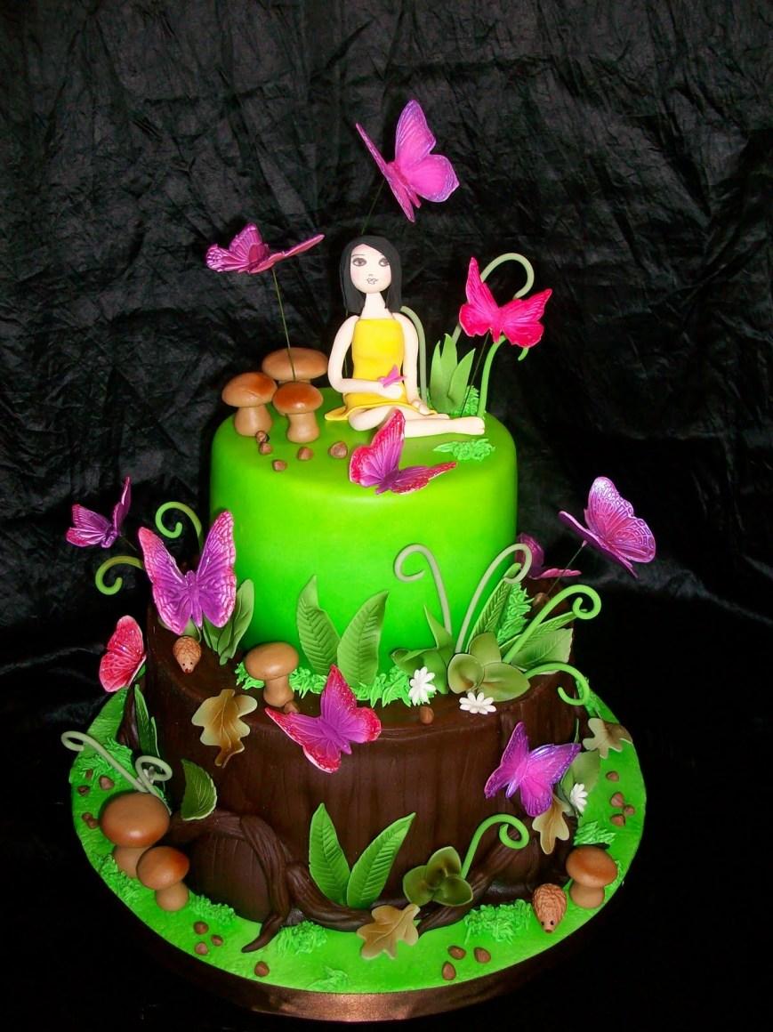 Butterfly Birthday Cake Sweet 16 Butterfly Birthday Cakesbest Birthday Cakesbest Birthday Cakes