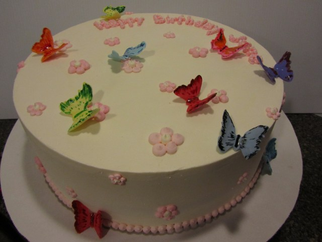 Butterfly Birthday Cakes Butterflies Birthday Cakes