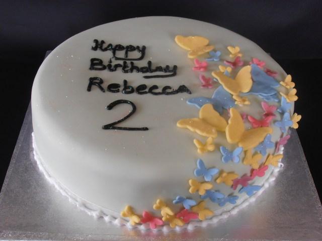 Butterfly Birthday Cakes Butterfly Birthday Cake Cols Cupcakes Cakes