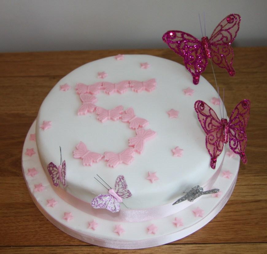 Butterfly Birthday Cakes Butterfly Birthday Cakes Lovinghomemade