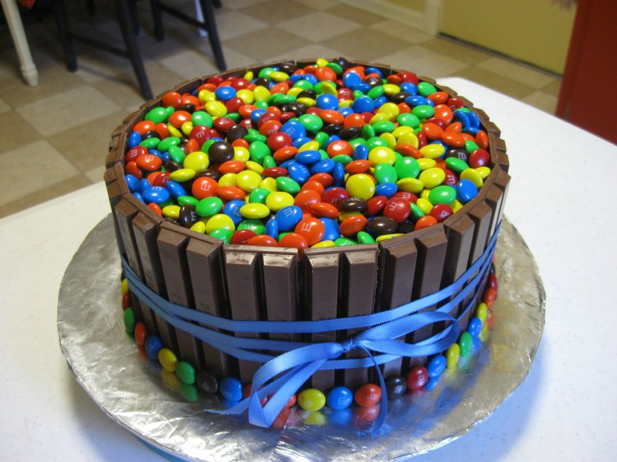 Candy Birthday Cake Candy Birthday Cake Birthday Cake For My Extra Brother N Flickr