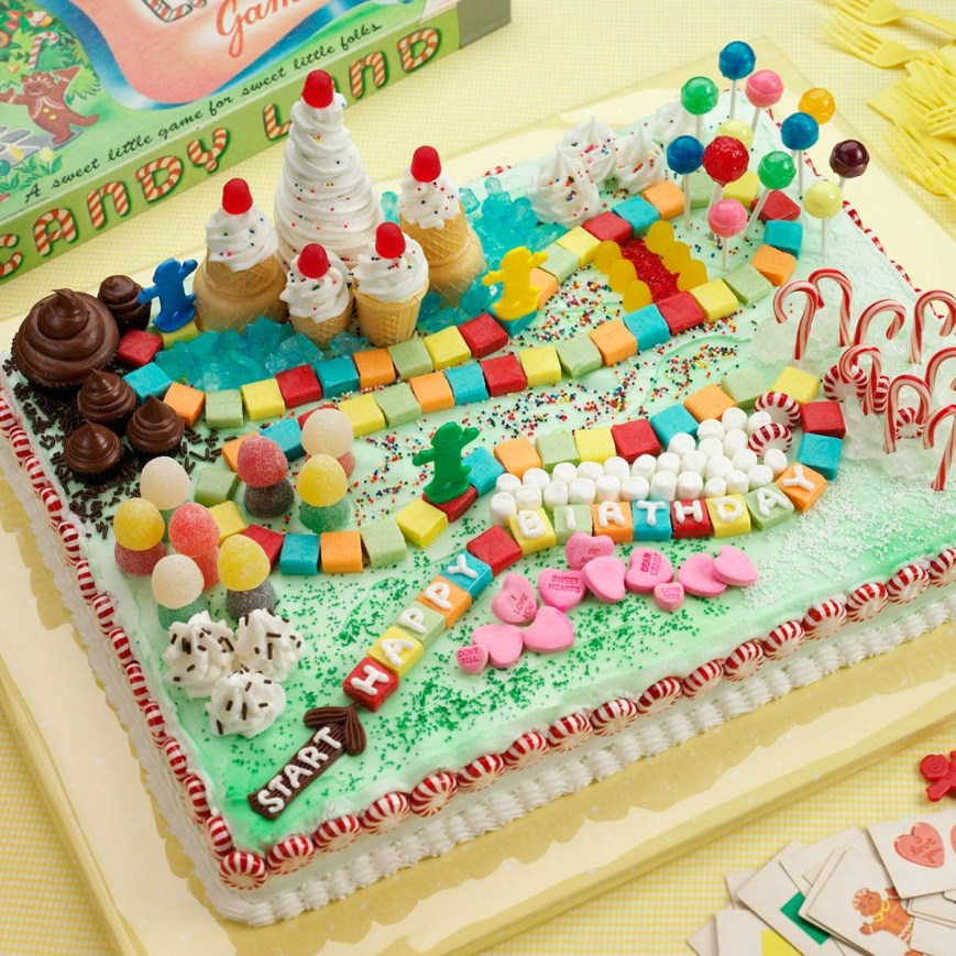 Candy Birthday Cake Candy Land Cake Recipe Taste Of Home