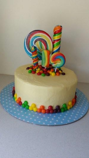 Candy Birthday Cake Lolly Pop Candy Cake Cake Decorating Pinterest Cake Birthday