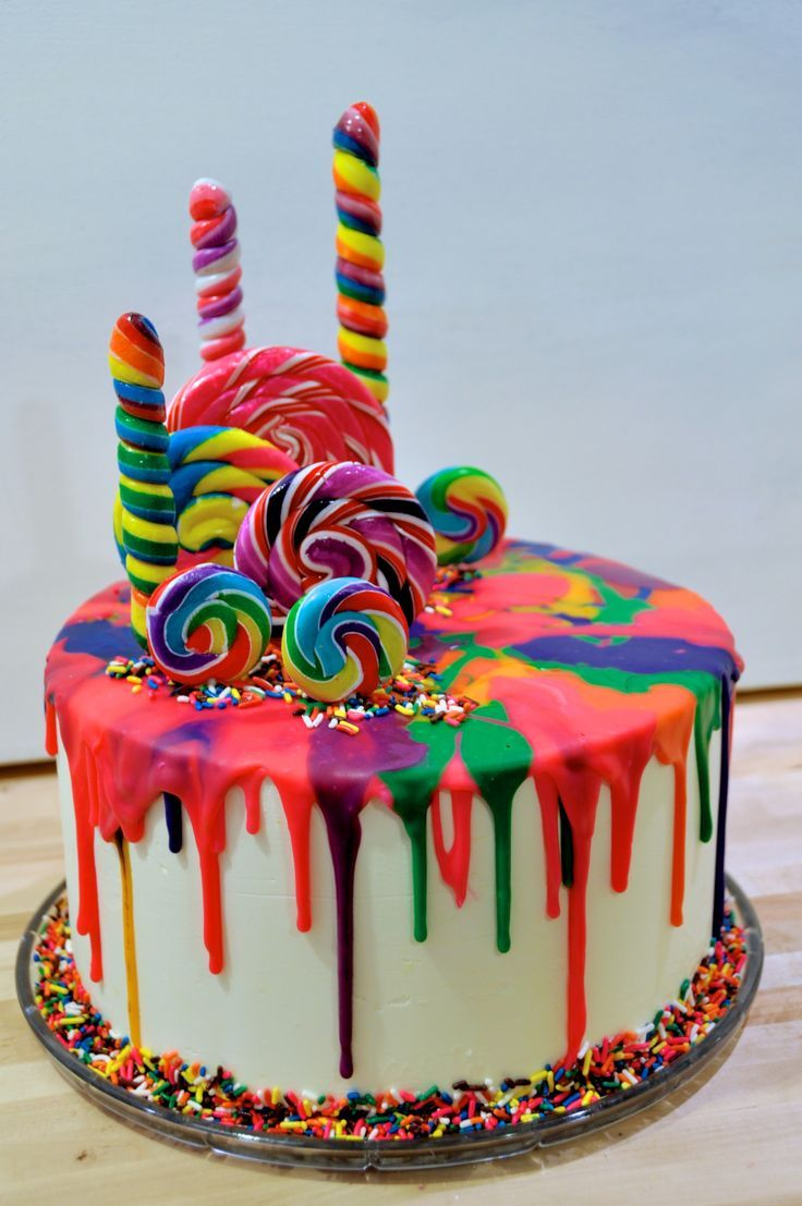 Candy Birthday Cake My First Attempt At A Katherine Sabbath Style Drip Cake Carolina