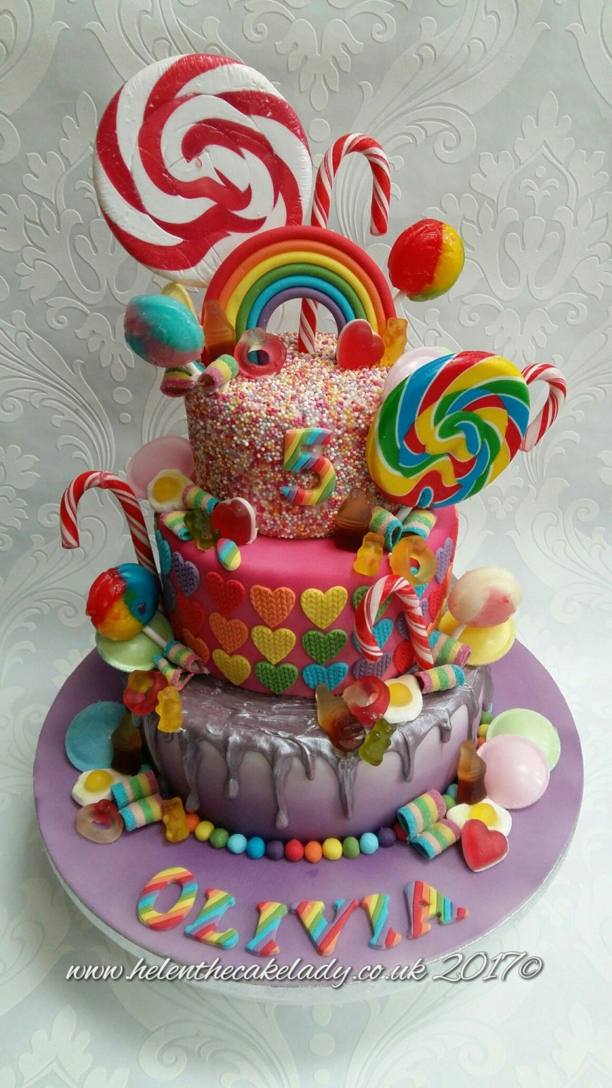 Candy Birthday Cake Sweets Candy Birthday Cake Birthday Cake Pinterest Birthday