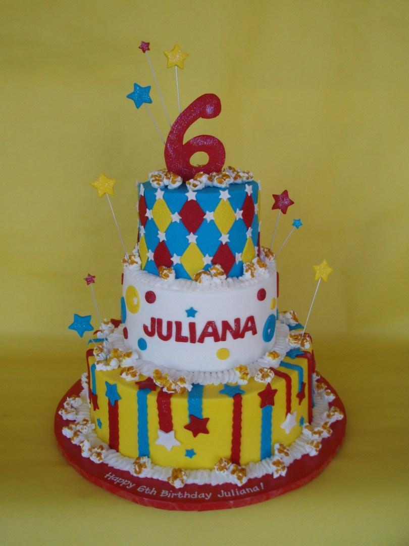 Carnival Birthday Cakes Birthday Cakes Carnival Theme Sheet Cake Pin Party Cupcake Clown